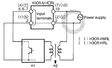 h3cr timer wiring power supply and input devices faq singapore omron ia