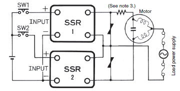 solid state relay further information technical guide With pwm motor control circuit schematic diagram with forward reverse and break operation